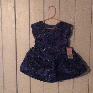 Polka Dot Infant Glam Dress